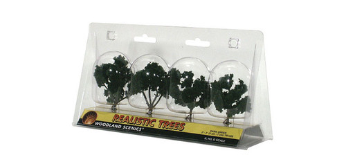 "Trees 2-3"" Dark Grn 4/"
