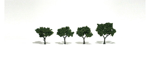 "Trees 2-3"" Medium Grn 4/"