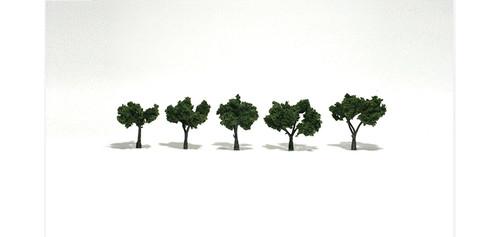 """Med Grn Tree 1.25 - 2"""" 5/"""