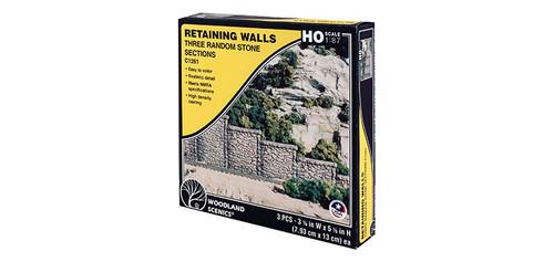 Retaining Wall Rnd Stn 3/