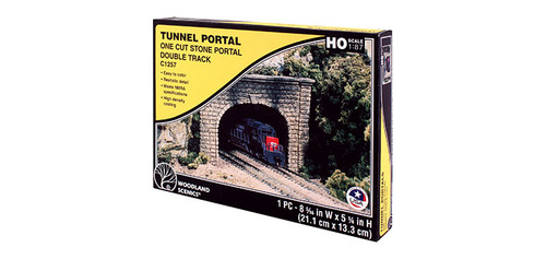 Dbl Tunnel Portal Cut Stn