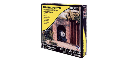 Sngl Tunnel Portal Timber
