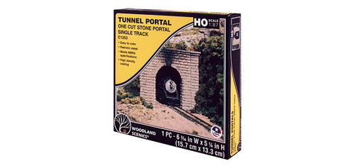 Sngl-Tunnel Portal Ct Stn