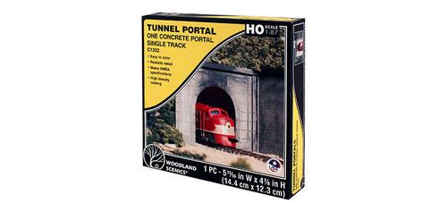 Sngl-Tunnel Portal Cncrt