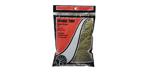 Coarse turf burnt grass