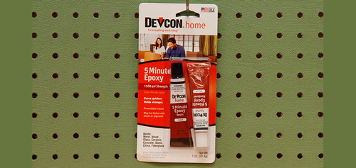 DevCon 5 Minute Epoxy (1 oz.)