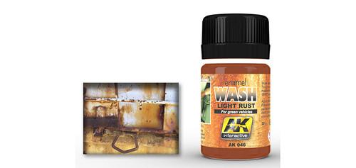 AK - 046 - Light Rust Wash for Green Vehicles (35ml)
