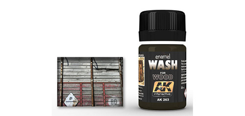 AK - 263 - Wash for Wood (35ml)