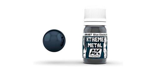 AK - 487 - Metallic Blue (30ml)