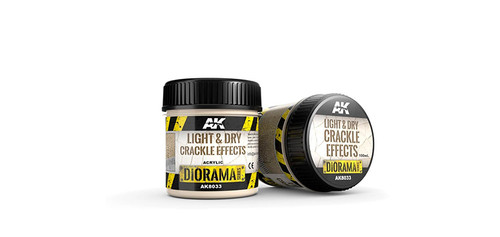 AK - 8033 - Light & Dry Crackle Effects (100ml)