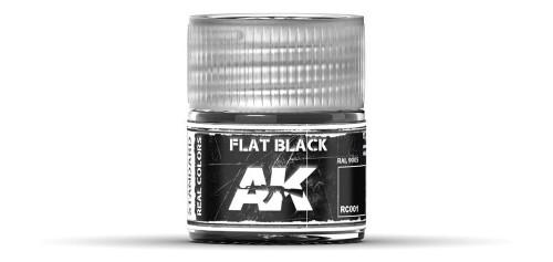 AK - RC001 - Flat Black - RAL9005