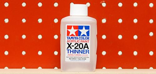 Tamiya - 81040 - X-20A - Acrylic Thinner (250ml)