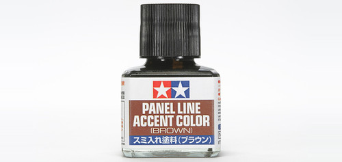 Tamiya - 87132 - Brown Panel Line Accent Color (40ml)