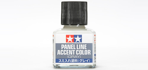 Tamiya - 87133 - Gray Panel Line Accent Color (40ml)