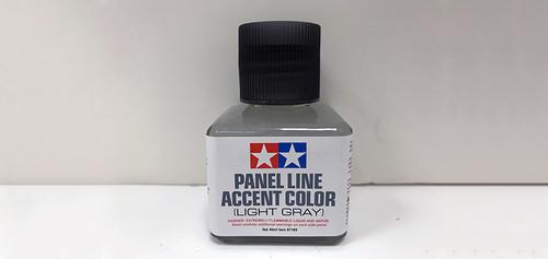 Tamiya - 87189 - Light Gray Panel Line Accent Color (40ml)