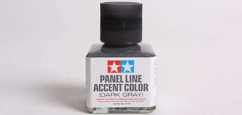 Tamiya - 87199 - Dark Gray Panel Line Accent Color (40ml)