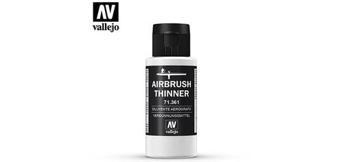 Vallejo - 71361 - Airbrush Thinner (60ml)