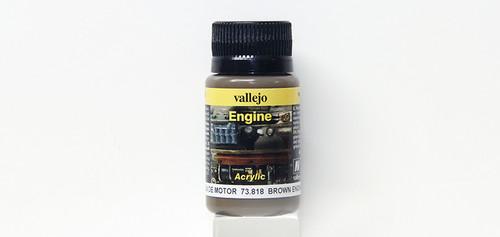 Vallejo - 73818 - Brown Engine Soot (32ml)