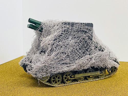 Camouflaged Netting