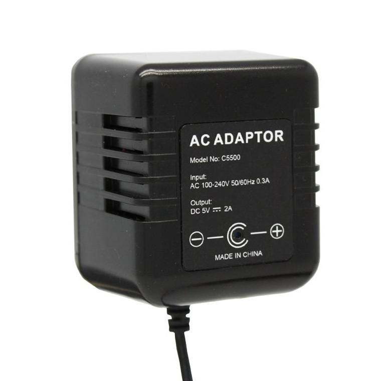 AC Adapter Hidden Camera HD - side view