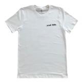 Drink Water Cursive T-Shirt White