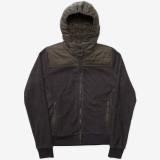 Holden Sherpa Fleece Hybrid Zip Shadow