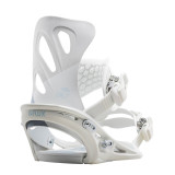 Flux GS White Wood 2020 Womens Snowboard Bindings