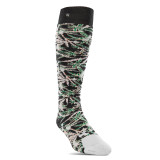 32 Sweet Leaf Sock White