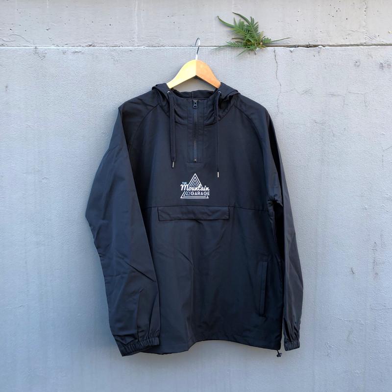 The Mountain Garage Windbreaker Black