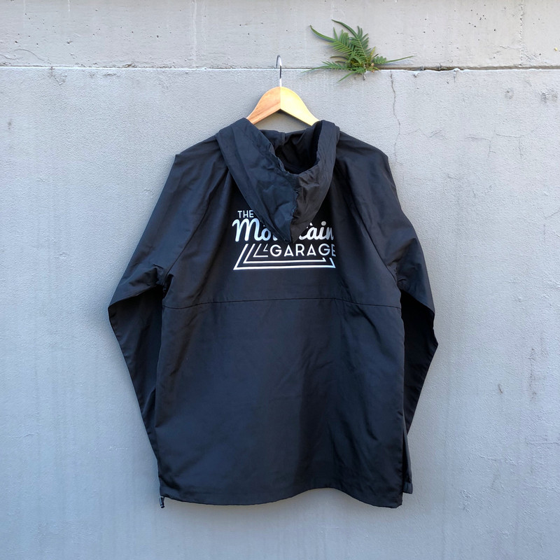 TMG Windbreaker Black - Back print
