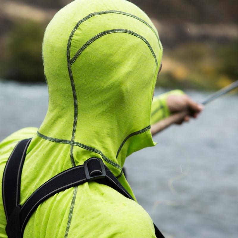 Airblaster Merino Ninja Suit - Form fitting hood