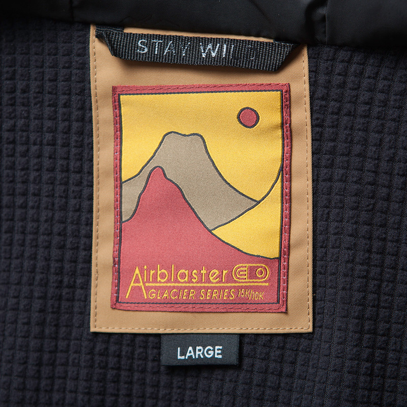 Airblaster Yeti Stretch Jacket - Waffle Wick