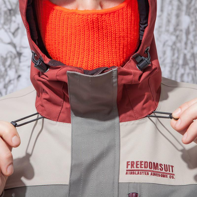 Airblaster Freedom Suit - Hood cinch