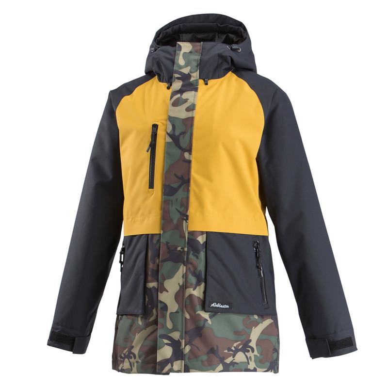 Airblaster Heartbreaker Jacket OG Dino Gold