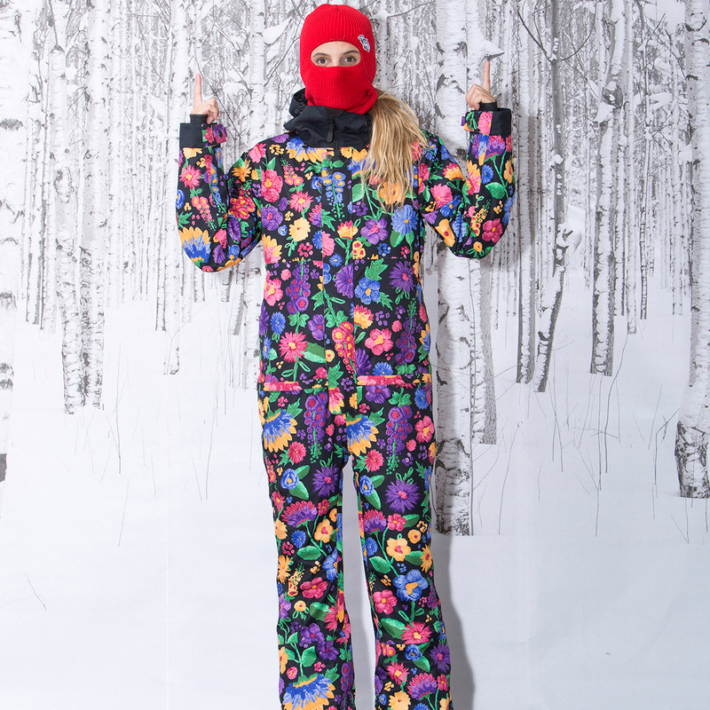 Airblaster Freedom Suit - Flower child