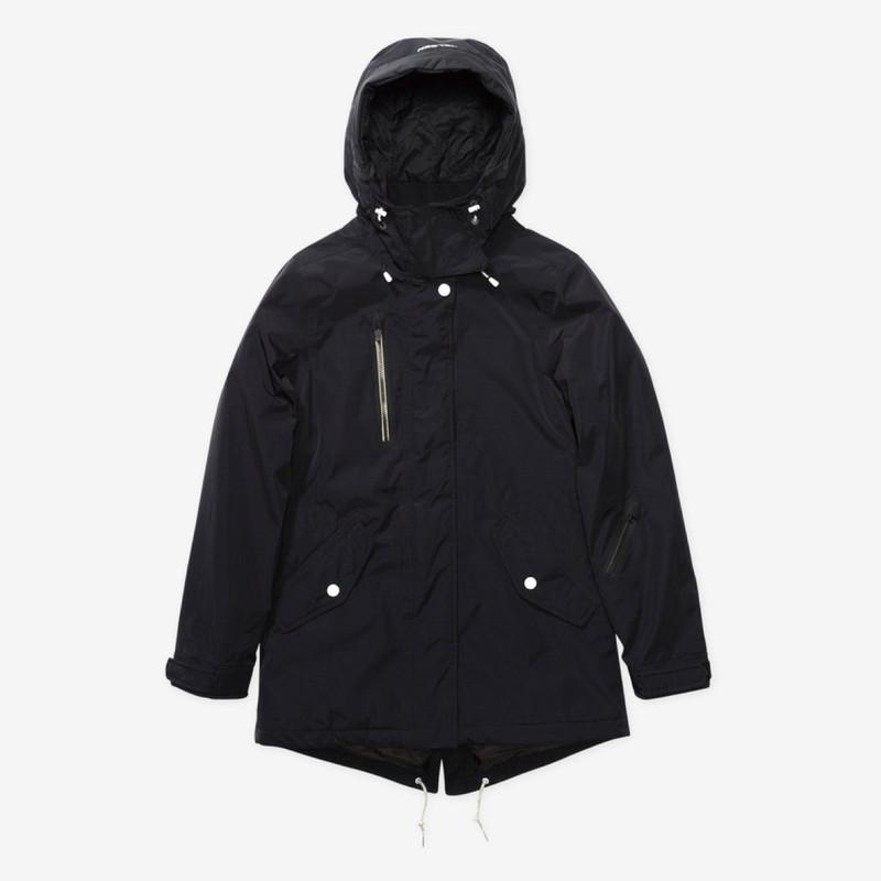 Holden Fishtail Jacket Black
