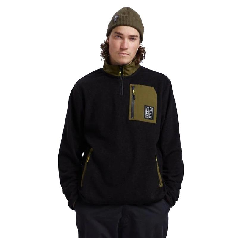 Yuki Threads Sherpa Fleece Black