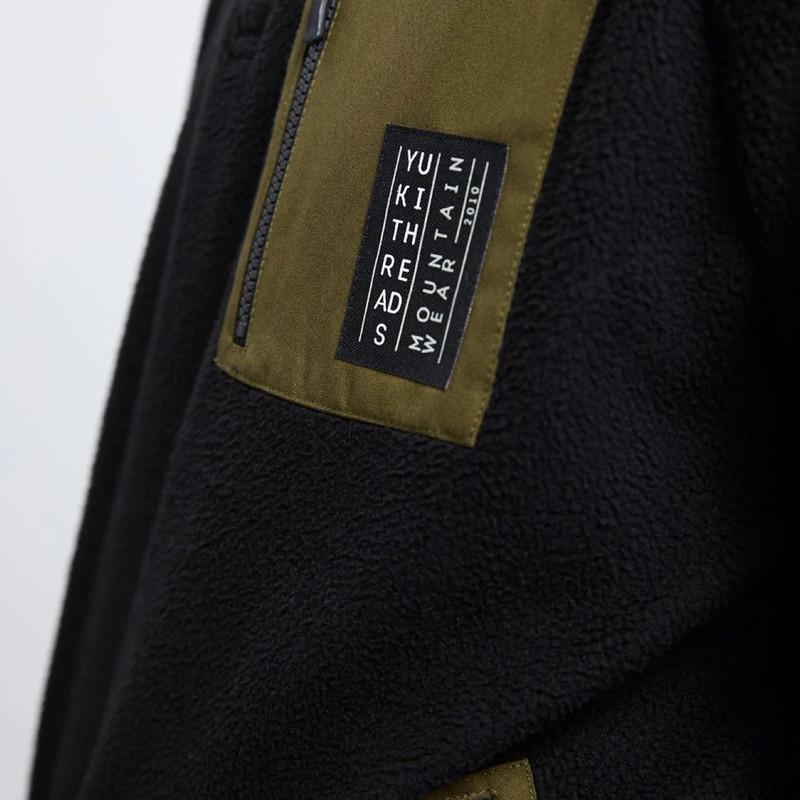 Yuki Sherpa Fleece - Pocket detail