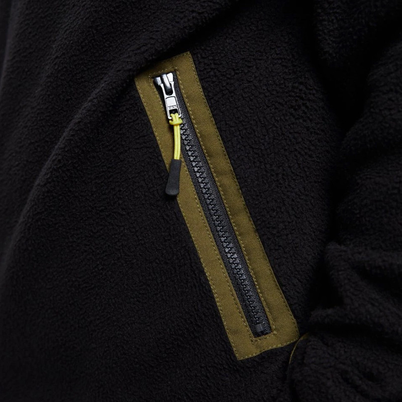 Yuki Sherpa Fleece - Zip detail