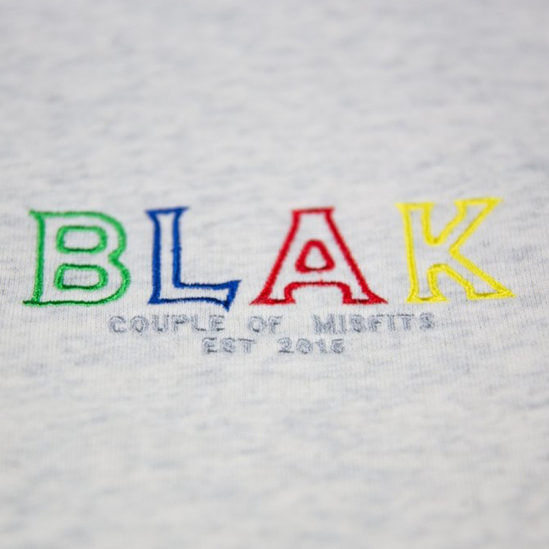 BLAK Stratton Hoodie - Embroidery detail