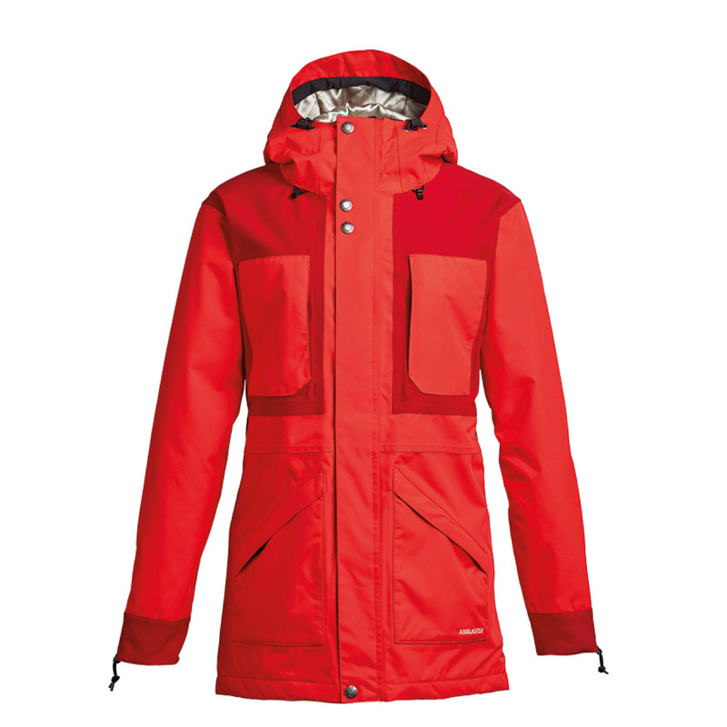 Airblaster Lady Storm Cloak Partytime Red
