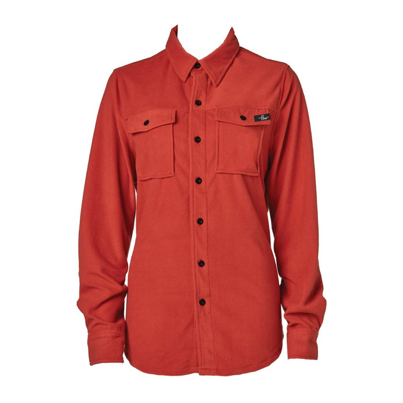 POW Microfleece Shirt Burnt Brick