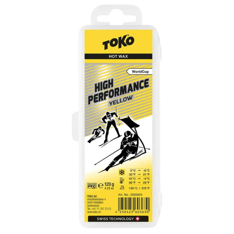 Toko High Performance Wax Yellow