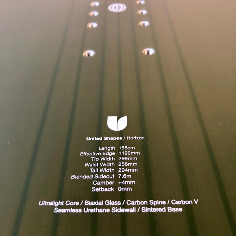 US Horizon Series - Topsheet