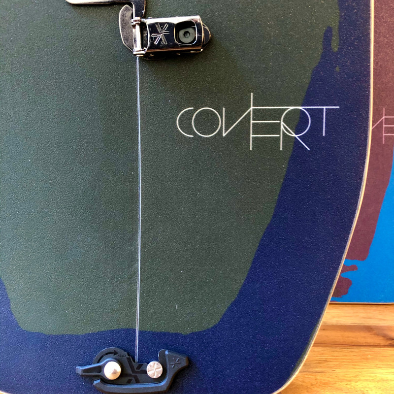 US Covert Splitboard - Tail