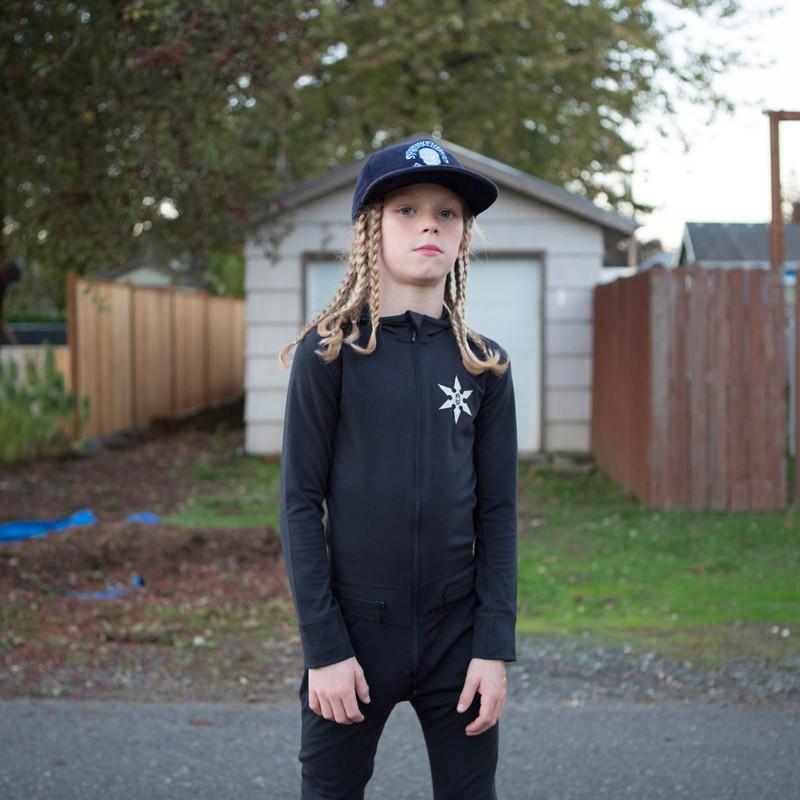 Airblaster Youth Ninja Suit Black