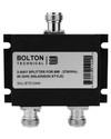 2-Way Splitter for 689-2700 MHz Wilkinson Style 50 Ohm