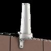 Desktop Antenna mounted on wall with bracket
