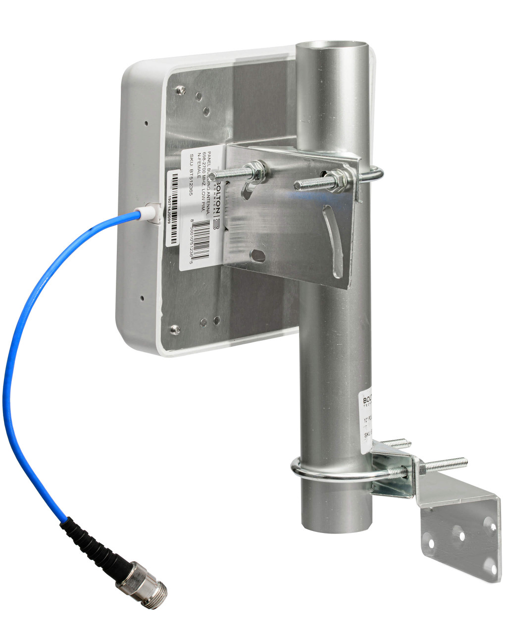 The Outdoor Board  Wall Mount Antenna pole mounting