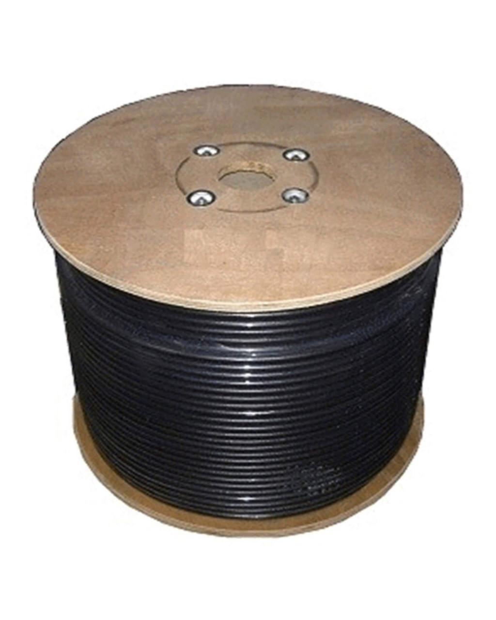 Bolton 240 Low Loss Cable Black Spool No Connector 150m